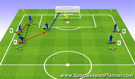 soccer interactive football soccer passing and receiving with shooting