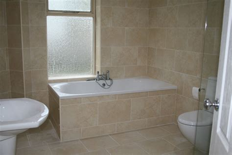 cream bathroom 31x45 travertine stone effect beige cream bathroom wall