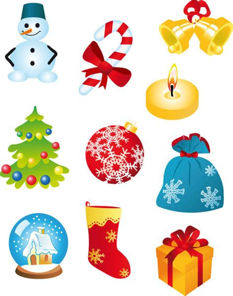 christmas ornament vectors images