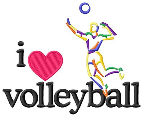 images of love volleyball i love volleyball male embroidery design annthegran