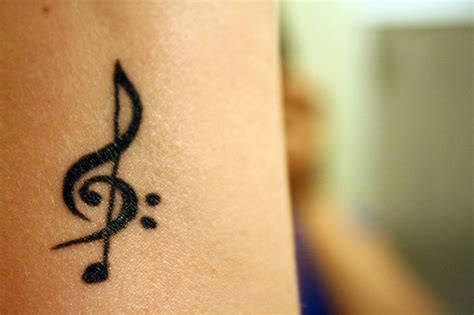 treble clef tattoo on wrist treble clef search for the of ink