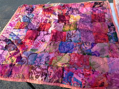 Beautiful Handmade Quilts - beautiful handmade indian silk quilts the antique store
