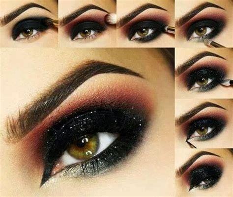 tutorial makeup smokey eyes 10 easy black smokey eye tutorial for party night