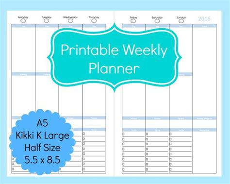 printable arc planner pages arc planner templates printable weekly planner to