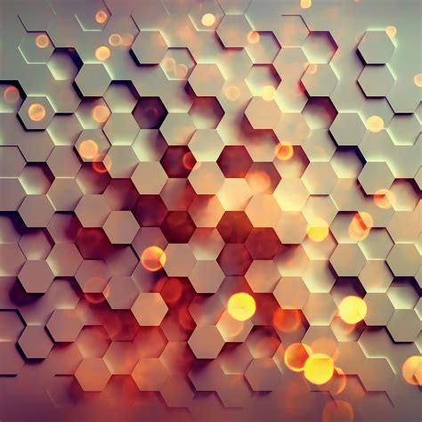 abstract pattern c vy40 honey hexagon digital abstract pattern background