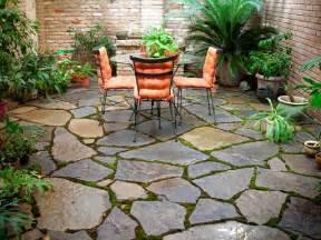 stone backyard photo