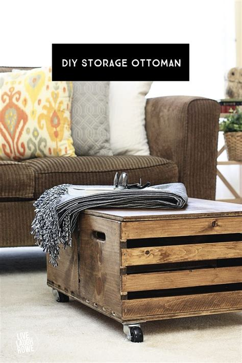 Diy Storage Ottoman Diy Storage Ottoman Live Laugh Rowe