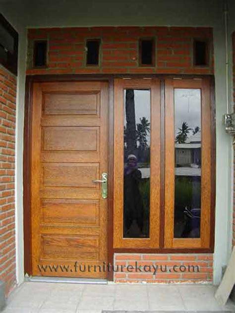 1 Set Pintu Dan Kusen Jendela harga kusen pintu jendela kayu contoh gambar terbaru
