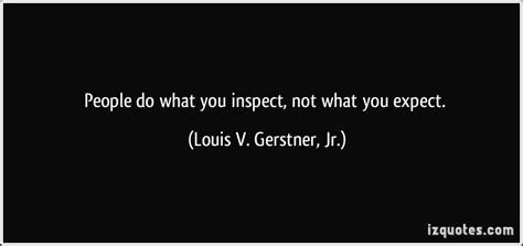 Not What You Expect by Don T Do What You Expect But What You Inspe By