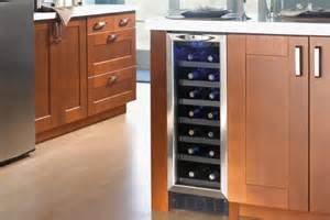 Ikea Kitchen Island Installation dwc276bls silhouette 27 bottle built in wine cooler with