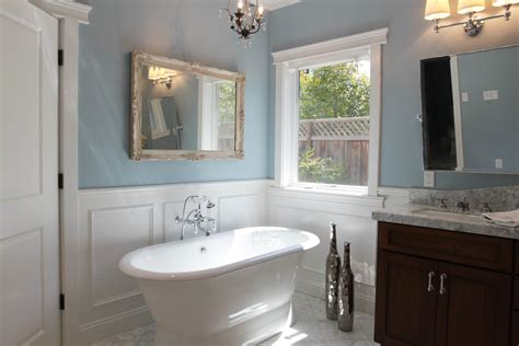 Best Paint Finish For Bathroom Wainscoting
