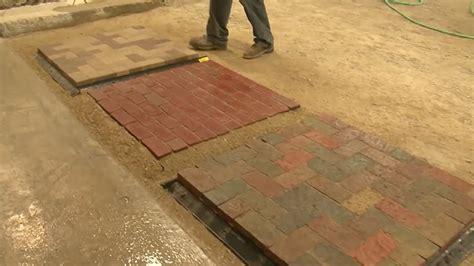 Installing Brick Pavers Brilliant 60 Clay Brick Pavers Decorating Design Of Clay