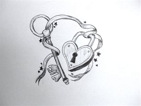 lock up meaning design 10 heart key tattoo designs