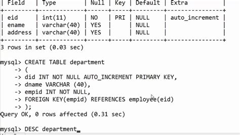 sql create table with foreign key 106 create table with foreign key in sql practical