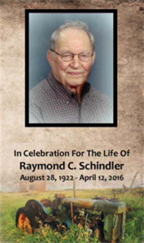 raymond schindler dobmeier funeral home barnesville mn