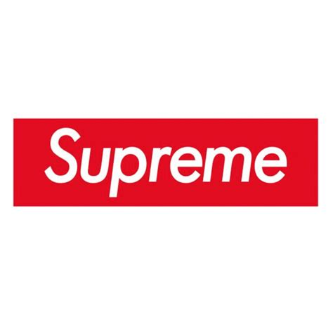 supreme box logo supreme box logo sticker vinyl decal skateboard