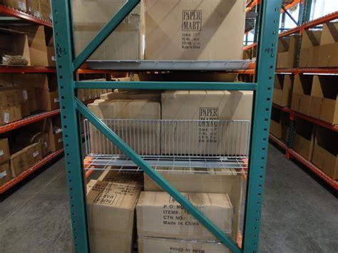 vertical wire shelf dividers warehouse rack  shelf