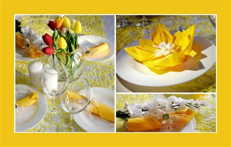 deko ideen frühling tischdeko geburtstag ostern execid