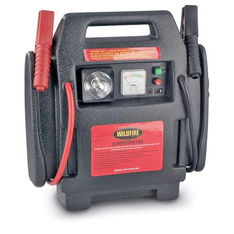 wildfire motors wildfire motors jumpstarter with air compressor 93562