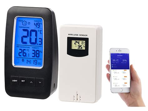 Infactory Data Logger Thermometer Hygrometer Datenlogger
