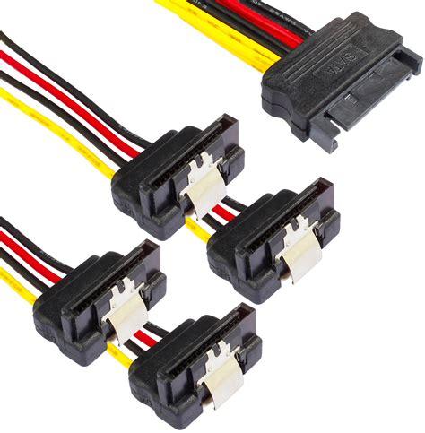 Kabel Sata Set sata 3 kabel set gerade 90 176 4x 50cm datenkabel rot