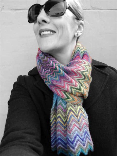 zickzack scarf pattern вязание шарфы снуды палантины записи в рубрике вязание