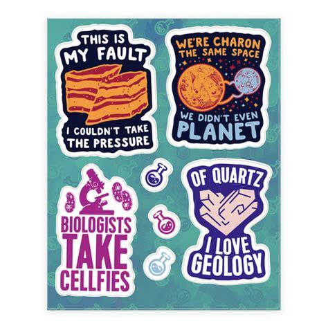 Sticker Puns