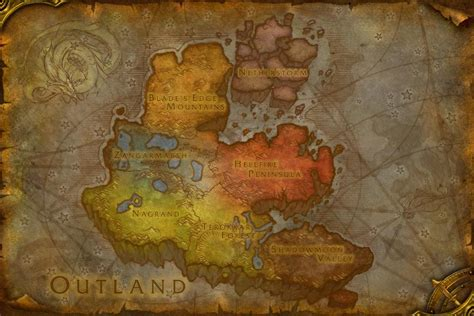 Razorthorn Shelf Map by Terokkar Forest Wowwiki Your Guide To The World Of