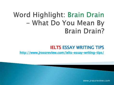 Brain Drain Essay Conclusion by College Essays College Application Essays Essay On Brain Drain In India