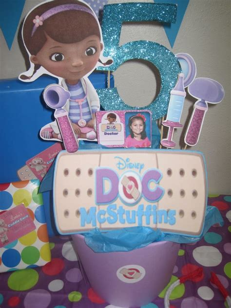 doc mcstuffins centerpiece craft ideas pinterest