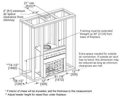 birmingham masonry style wood fireplace heatilator