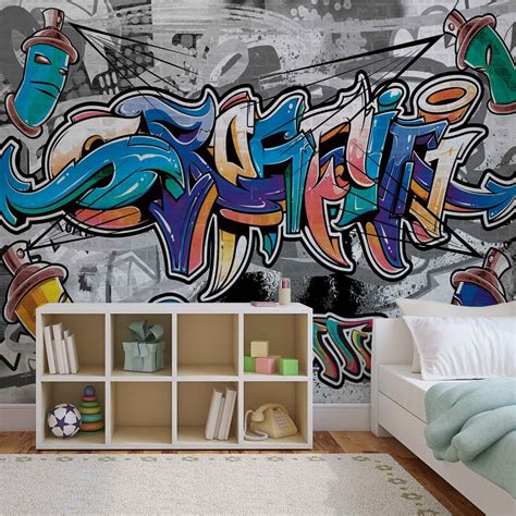 graffiti street art wall paper mural buy  ukposters
