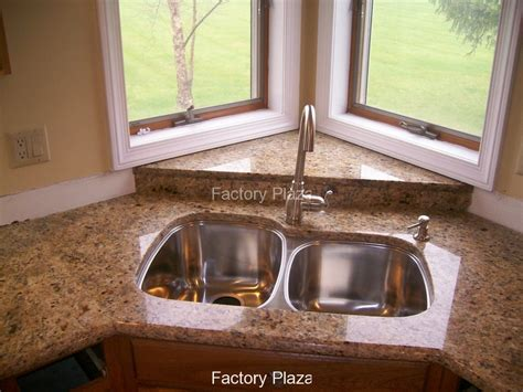 corner sinks for kitchen installed sinks photos