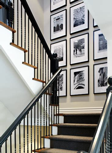 Stair Wall Art by Morgan Design Inc Spice Up That Stairwell