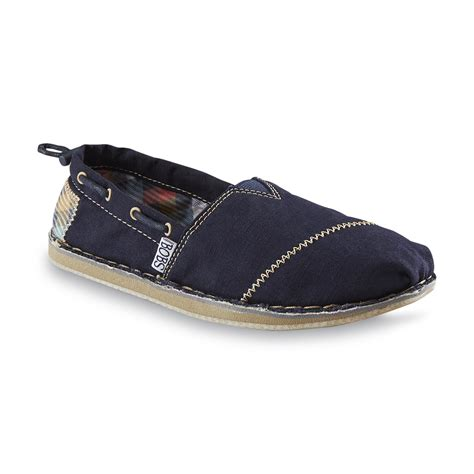 skechers s bobs chill navy canvas shoe shop your
