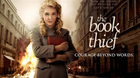 themes in the film the book thief the book thief events