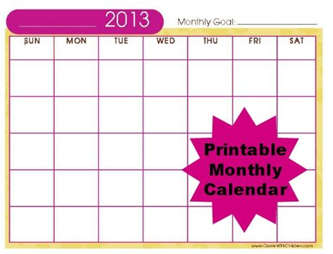 printable quarterly calendar 2013 is one of your new year resolutions to get organized i