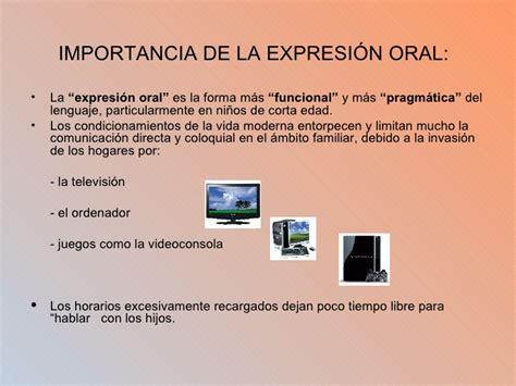 la expresin oral el desarrollo de la expresi 243 n oral