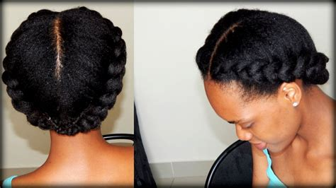 2 braids in front hair down hairstyle long natural hair natural hairstyles two braids hairstyles ideas