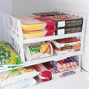 stackable freezer shelves freezer shelves kitchen