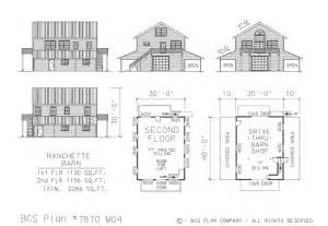 Barn Home Plans Blueprints Neak Pole Barn With Apartment Floor Plans