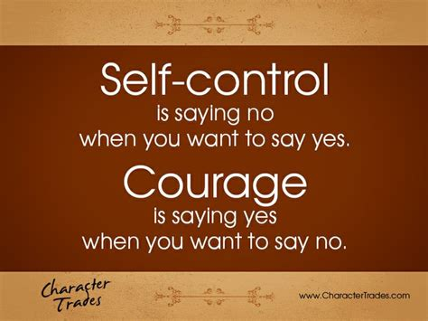 Say No Thanks self is saying no when you want to say yes courage is saying yes when you want to say