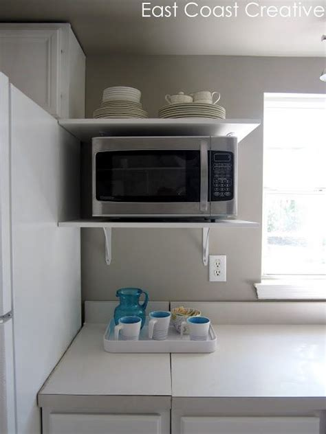 Microwave Top Shelf by 25 Best Ideas About Microwave Shelf On White