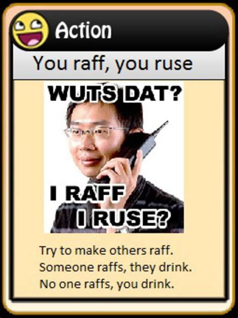 Know Your Meme The Game - image 121351 4chan drinking game cards know your meme