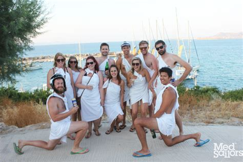 sailing party greece make time to party on your greece sailing trip medsailors