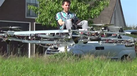 Diy Drone by Extra Large Quadcopter Capable Of Autonomous Human