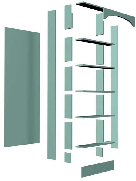 door bookshelf design diywoodplans