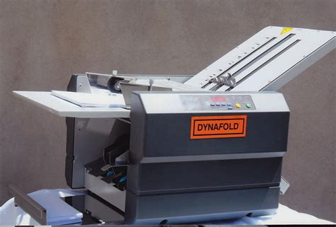 Paper Tri Fold Machine - dynafold de 42fc large format paper folding machine