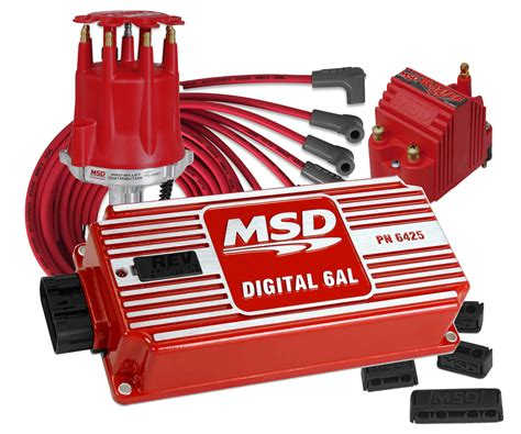 msd vkalsskit complete small block chevy street strip ignition kit