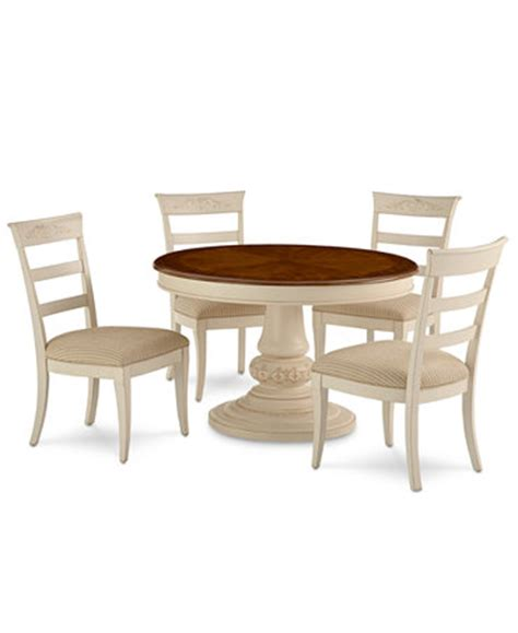 Macys Dining Tables Coventry Dining Room Furniture 5 Set Table And 4 Side Chairs Furniture Macy S